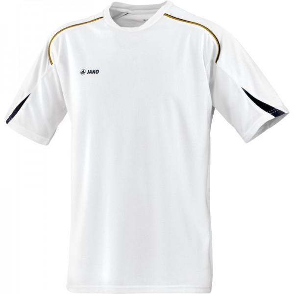 Jako T-Shirt Passion weiß-schwarz-gold