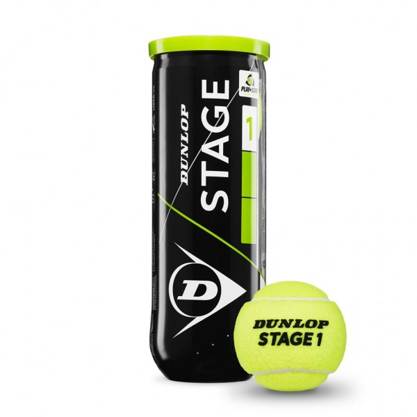 Dunlop Mini Tennis Stage 1 Grün