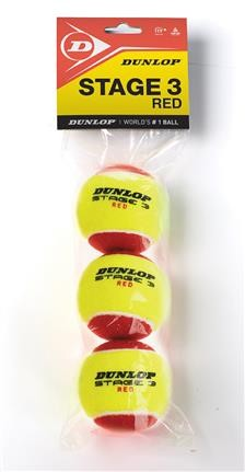 Dunlop Mini Tennis Stage 3 rot