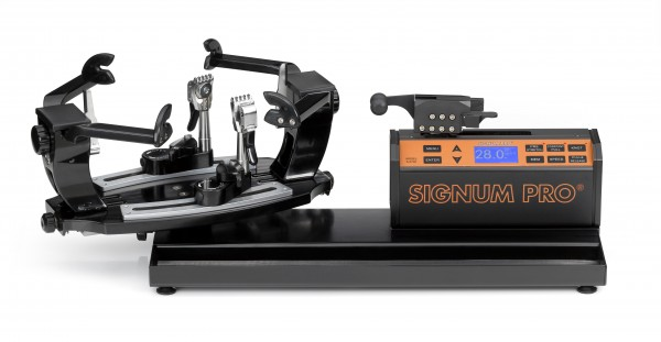 Besaitungsmaschine Signum Pro S-6700 Tischmodell - Linearzug + 200m Saite