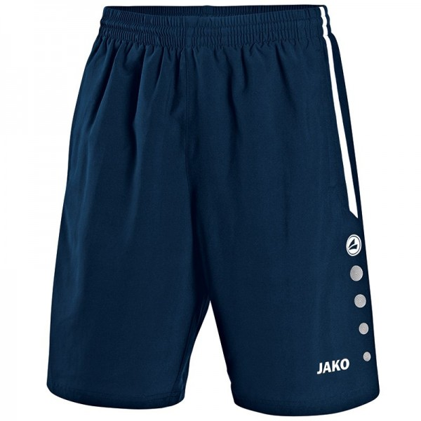 Jako Short Performance marine-weiß