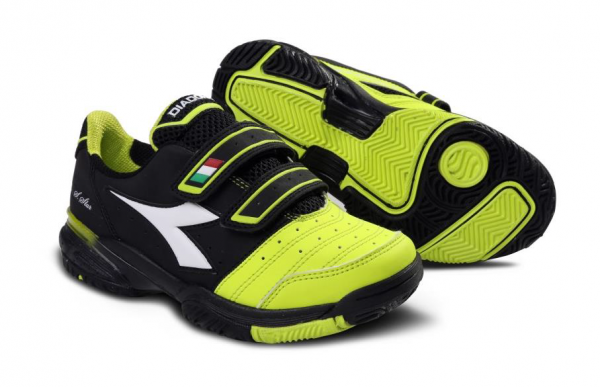 Diadora Speed Star Junior Tennisschuh + Klettverschluß