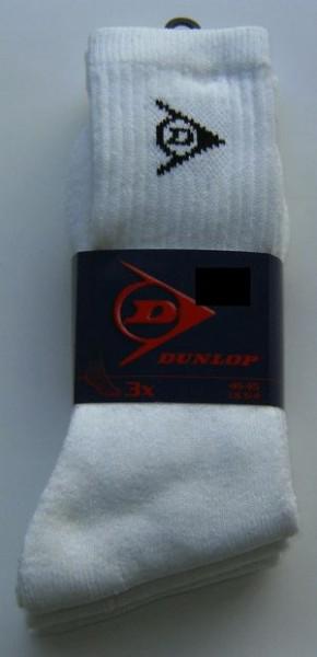 DUNLOP Tennissocken Unigröße (39-44)